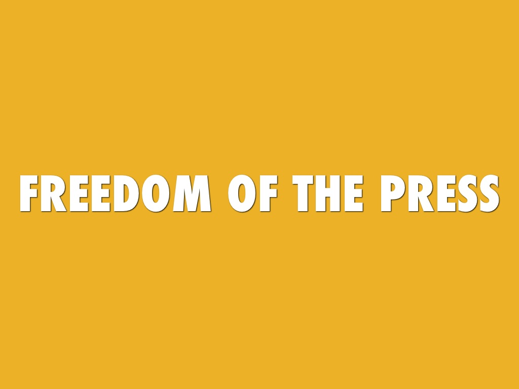 freedom of the press First amendment: an overviewthe first amendment of the united states constitution protects the right to freedom of religion and freedom of expression from government interference it prohibits any laws that establish a national religion, impede the free exercise of religion, abridge the freedom of speech, infringe upon the freedom of the press.