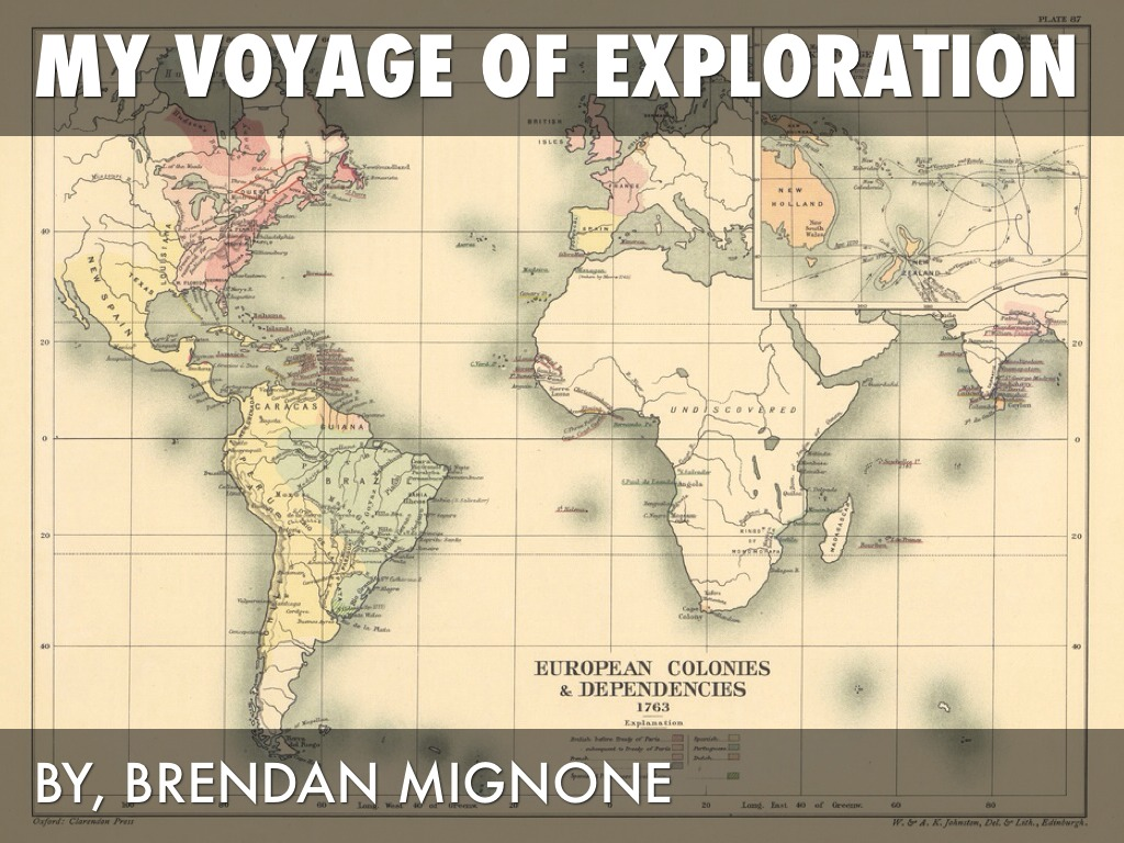 Age Of Exploration Ppt: Age Of Exploration Project By Brendan Mignone
