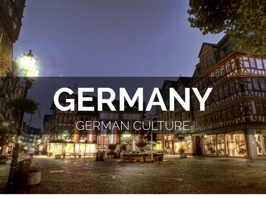 german culture Before discussing german culture it is necessary to define the term culture in essays on culture and society in modern germany culture is described as both intellectual production and the milieu, or climate of opinion, in which it takes place.