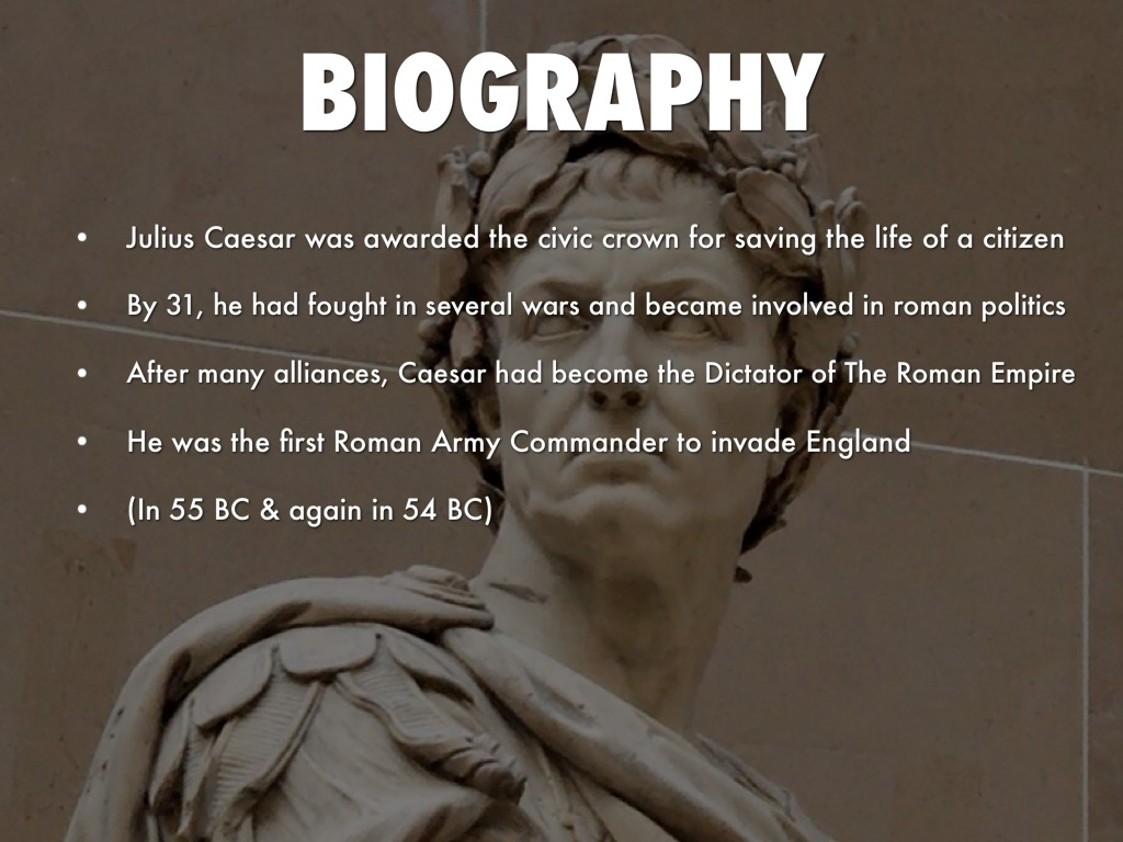 a biography of julius caesar a roman dictator Roman empire and julius caesar the life and times of julius caesar maps of the roman dictator in-depth biography of julius caesar plus all his.