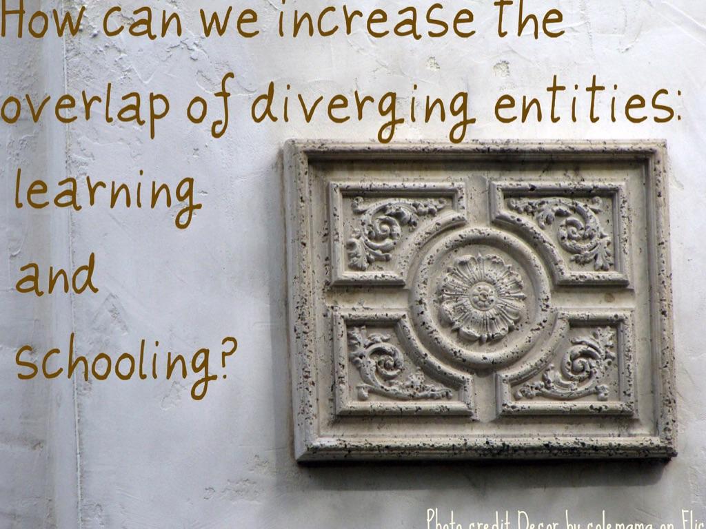 Schooling vs Learning