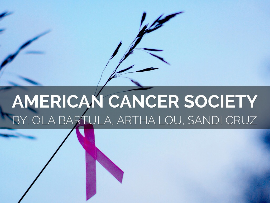 american caner society The american cancer society is a qualified 501(c)(3) tax-exempt organization and donations are tax-deductible to the full extent of the law no goods or services were provided for this gift please consult your tax advisor regarding specific questions about your deductions.
