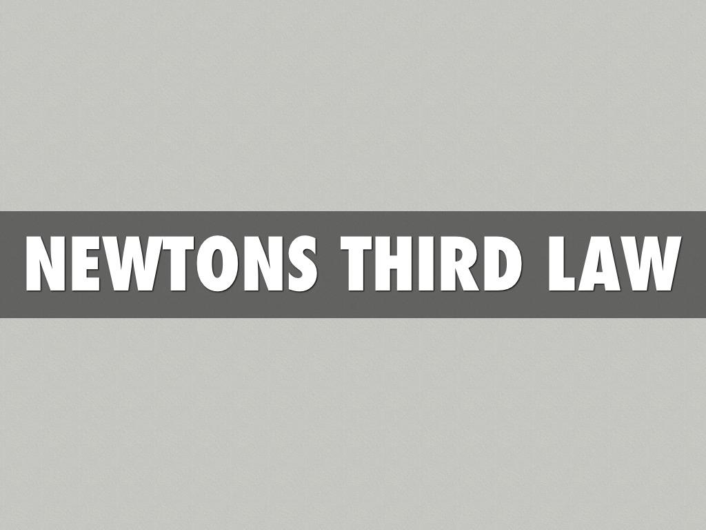 Newtons Laws. Nik Style by Nikolas Mersberger