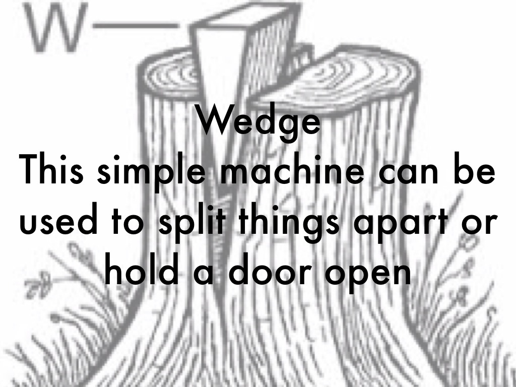 Wedge Simple Machine