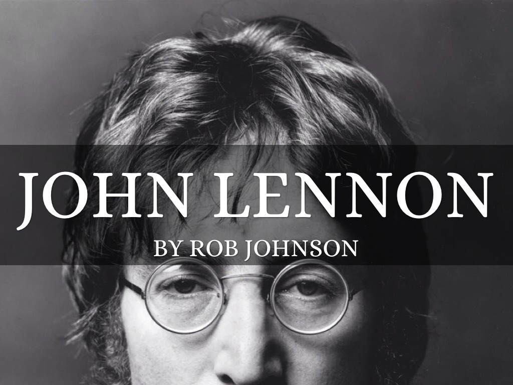 John Lennon By Rob Johnson