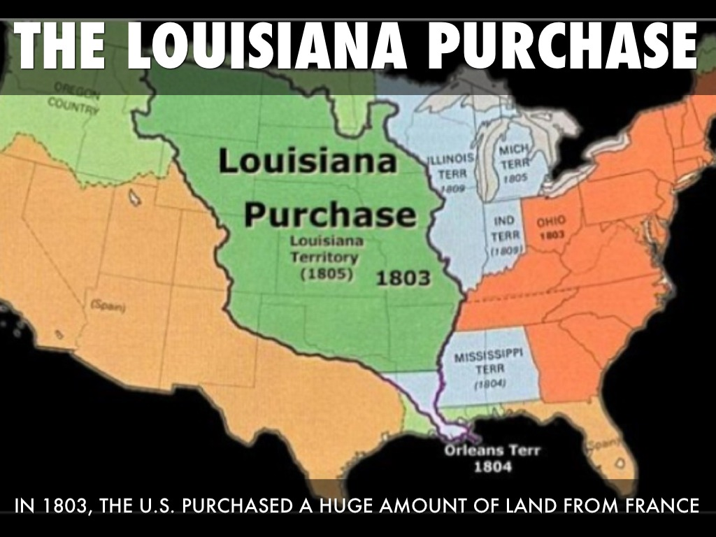 the positive events that followed the louisiana purchase in 1803 Louisiana history: 8 events that shaped the state  louisiana purchase: in 1803, louisiana history changed forever when thomas jefferson negotiated the purchase of.