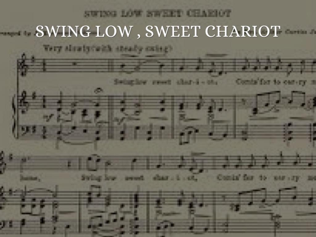 Swing low sweet chariot bedeutung