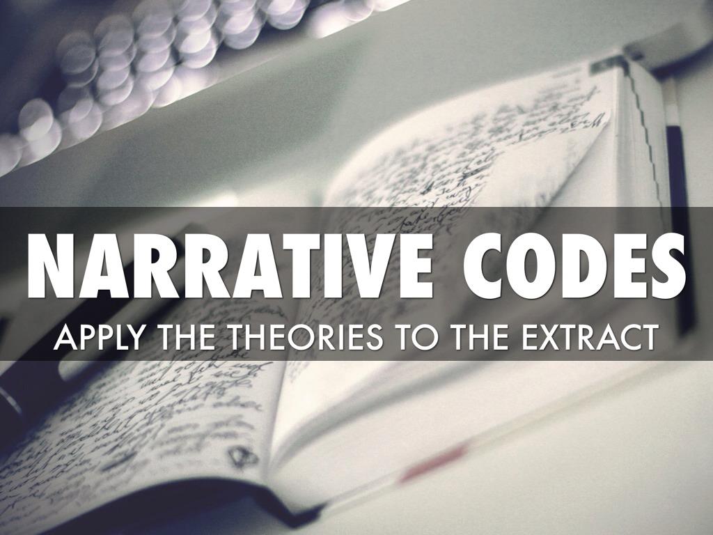 narrative codes