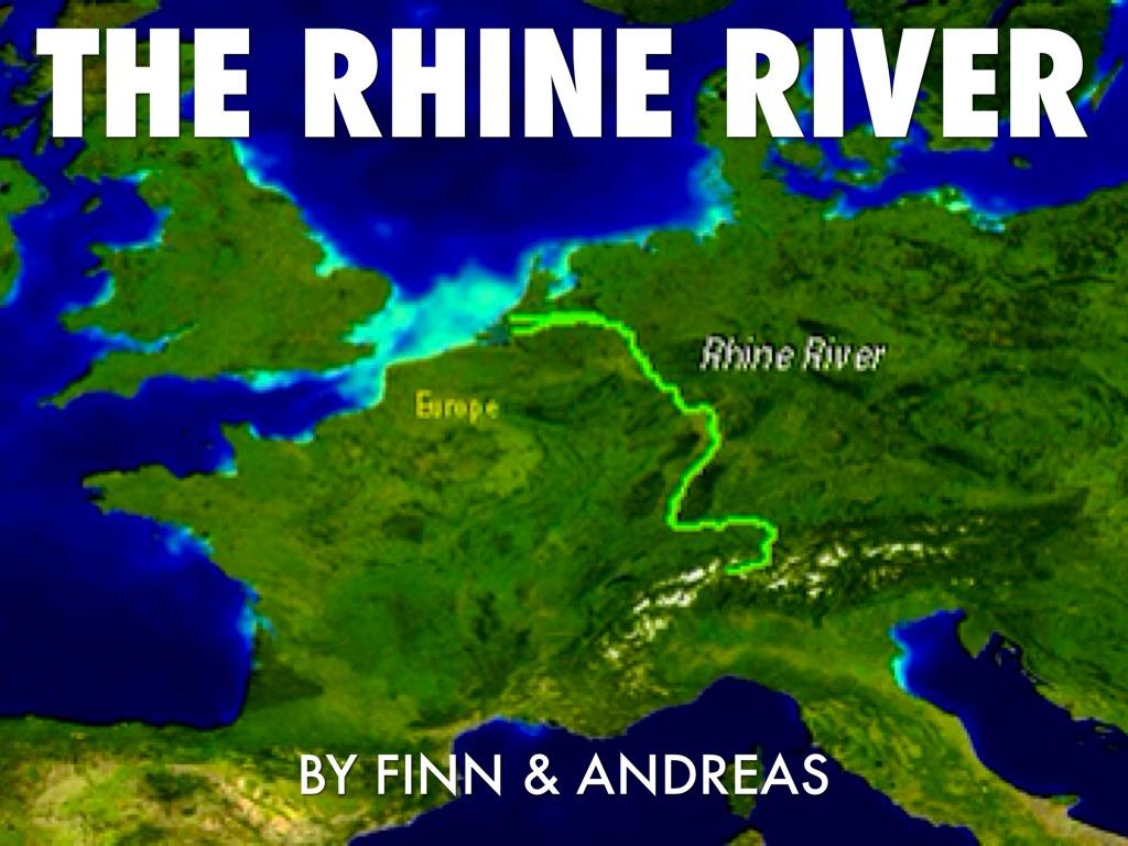 Rhine River By Aderandr - Rhine river