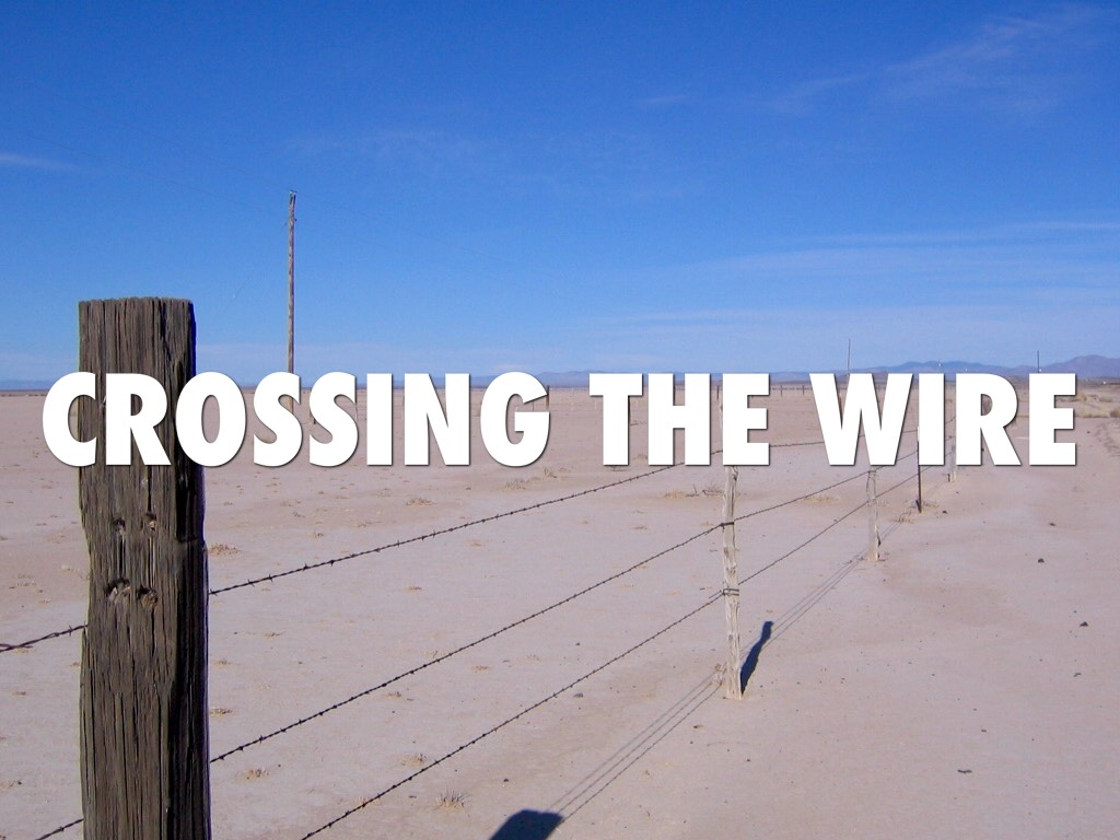 Crossing The Wire by Rafael Padilla