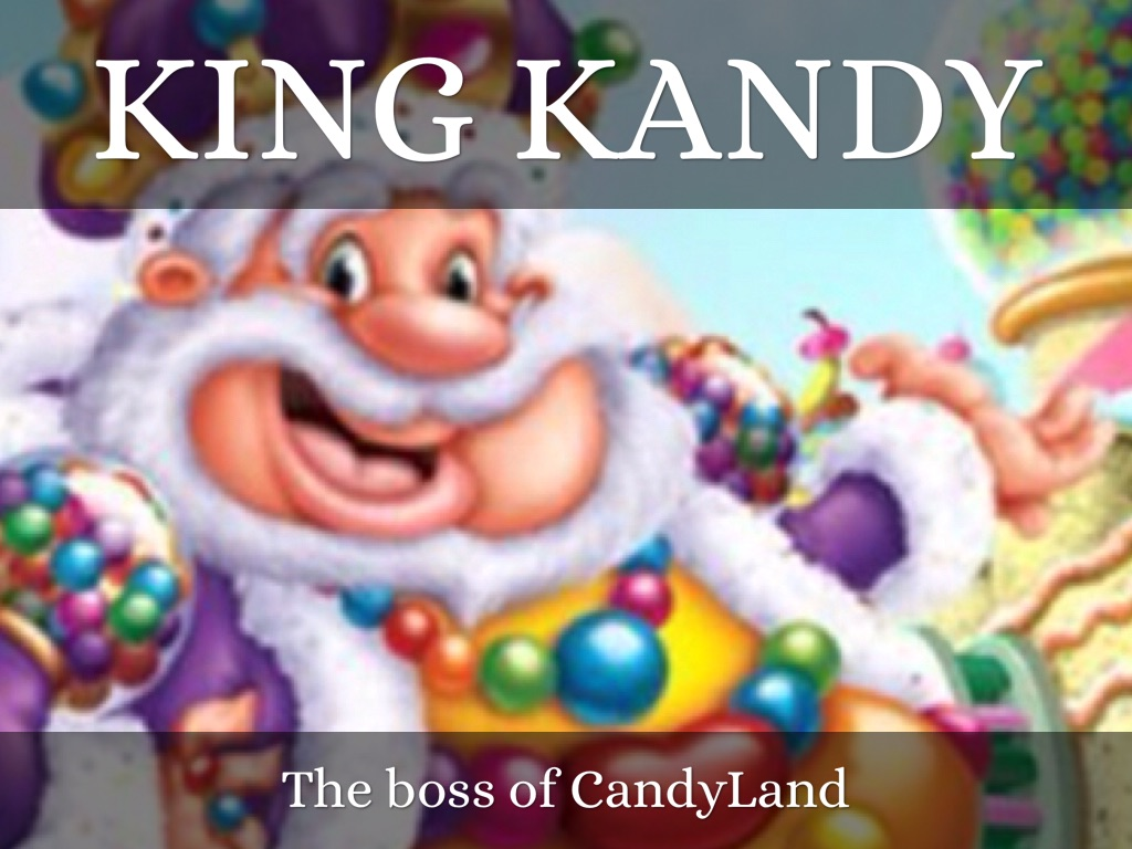 Candyland King Candy CandyLand by Cassidy P...