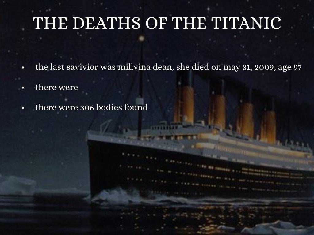 titanic death of a titan