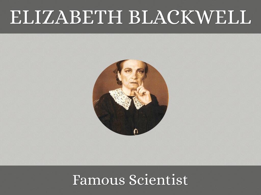 Elizabeth Blackwell By Macie Dyson