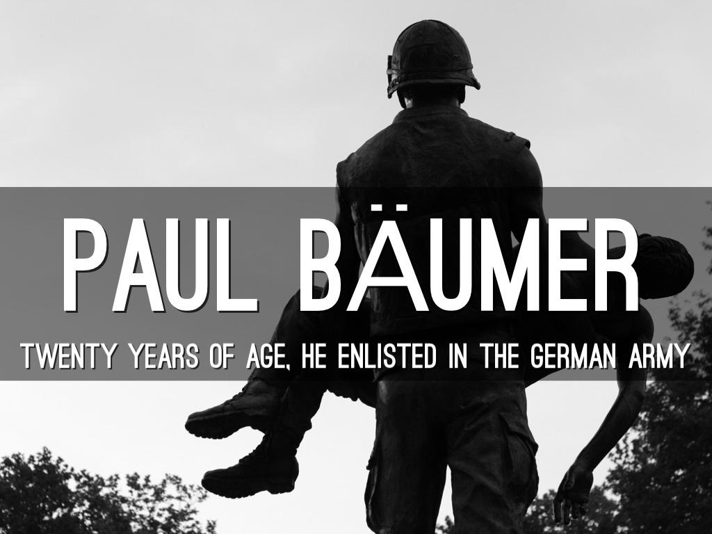 paul baumer age