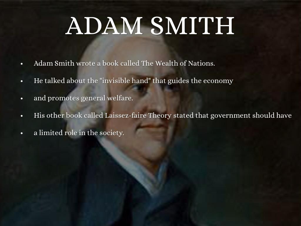 adam smith laissez faire pdf