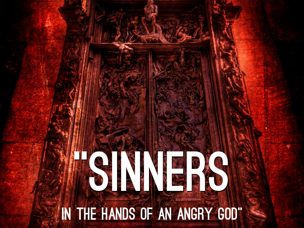 parody sinners in hands of angry god