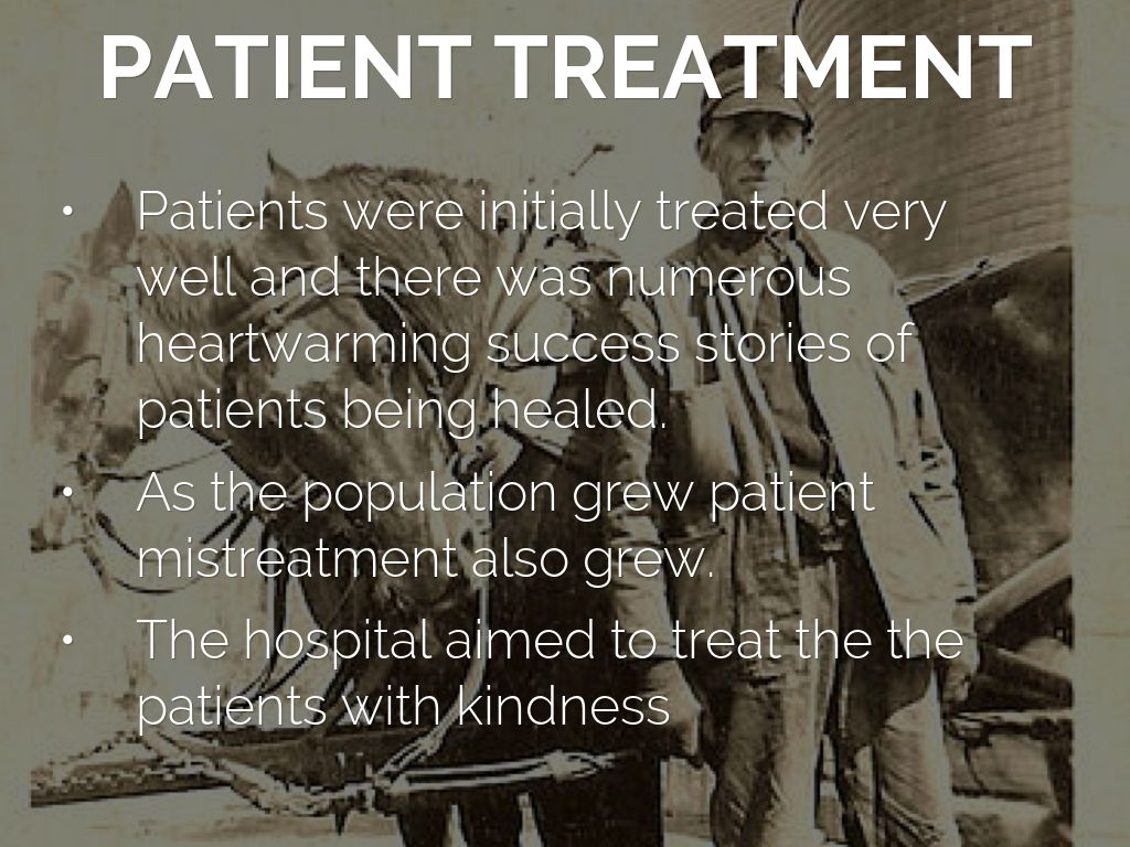 important to treat patients with kindness
