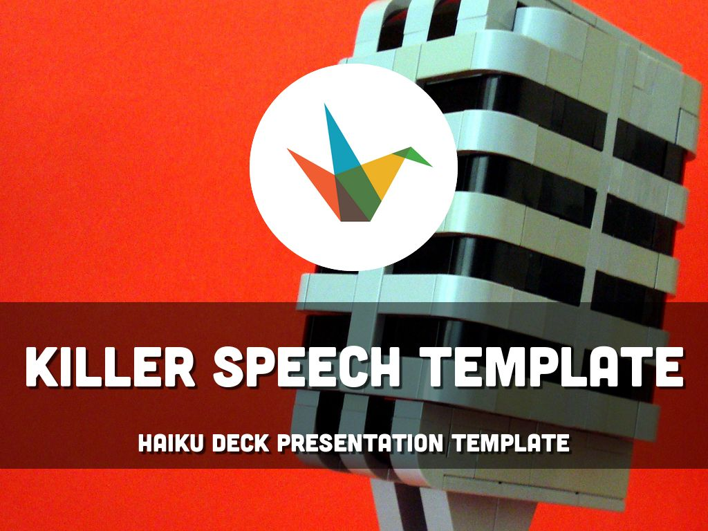 Killer Speech Template