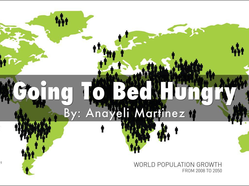 world hunger outline