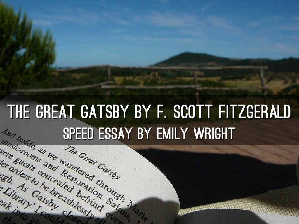 rhetorical analysis essay great gatsby