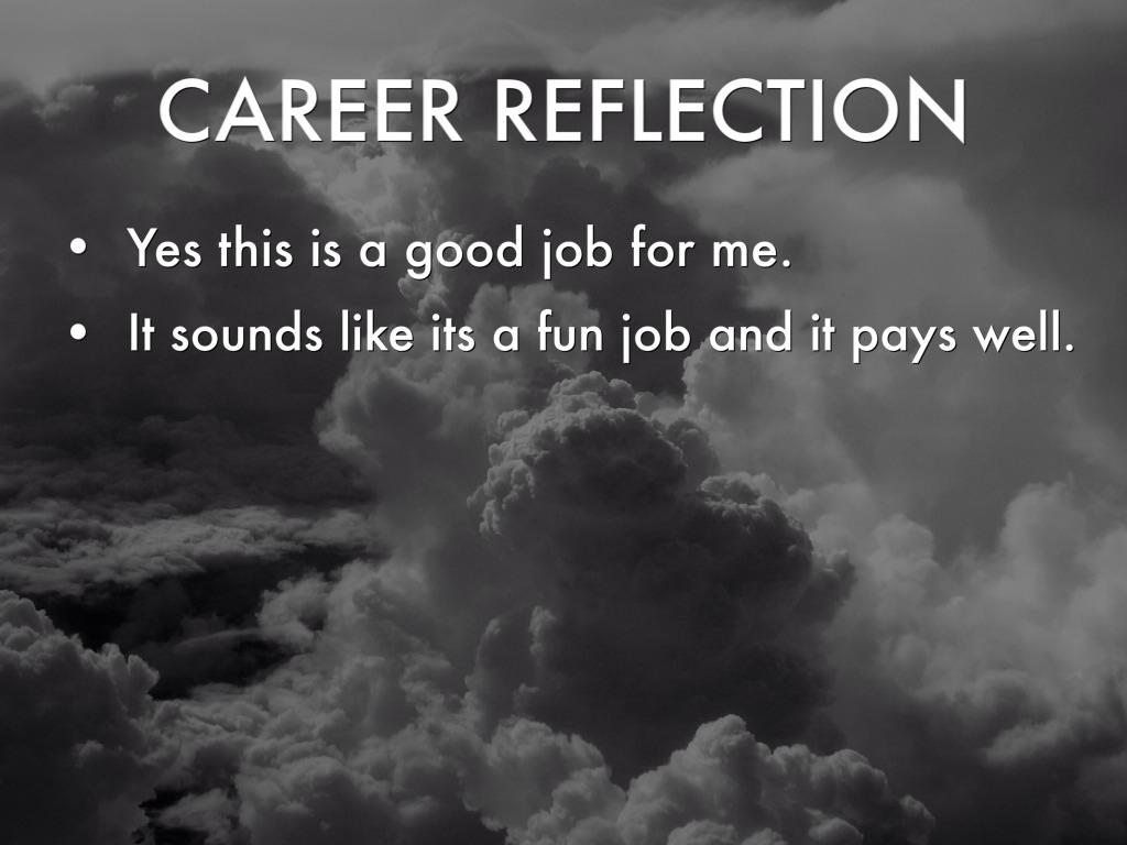 career reflection 6