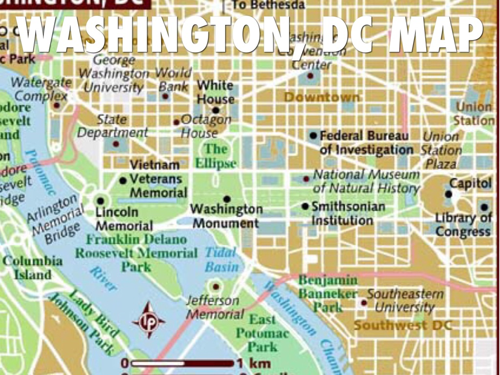 Washington DC By Liubinqing - Washington dc capitol map