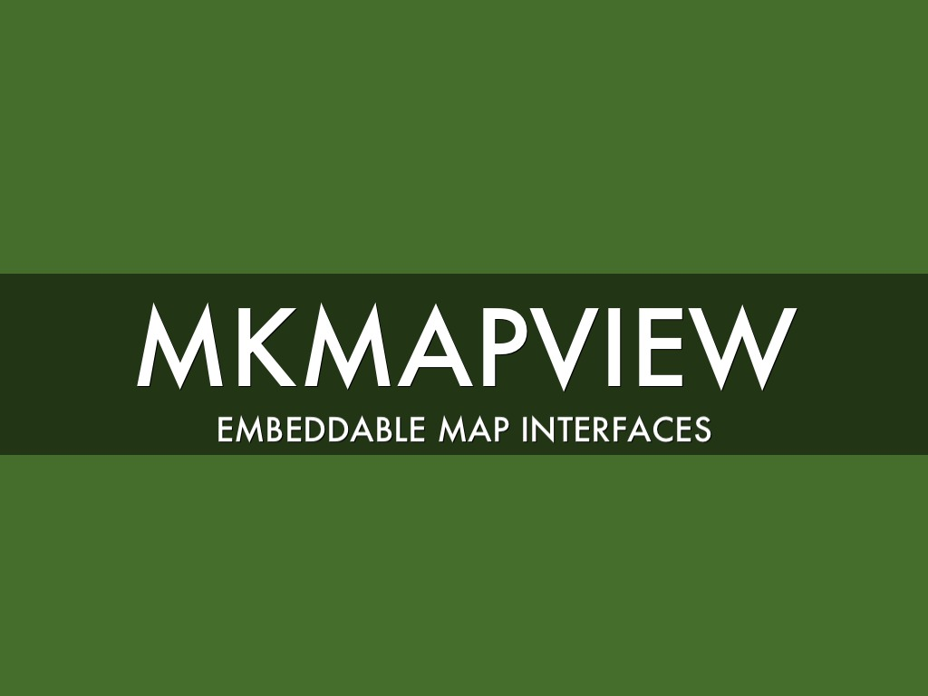 Custom MkMapKit Overlays by Liam Dunne