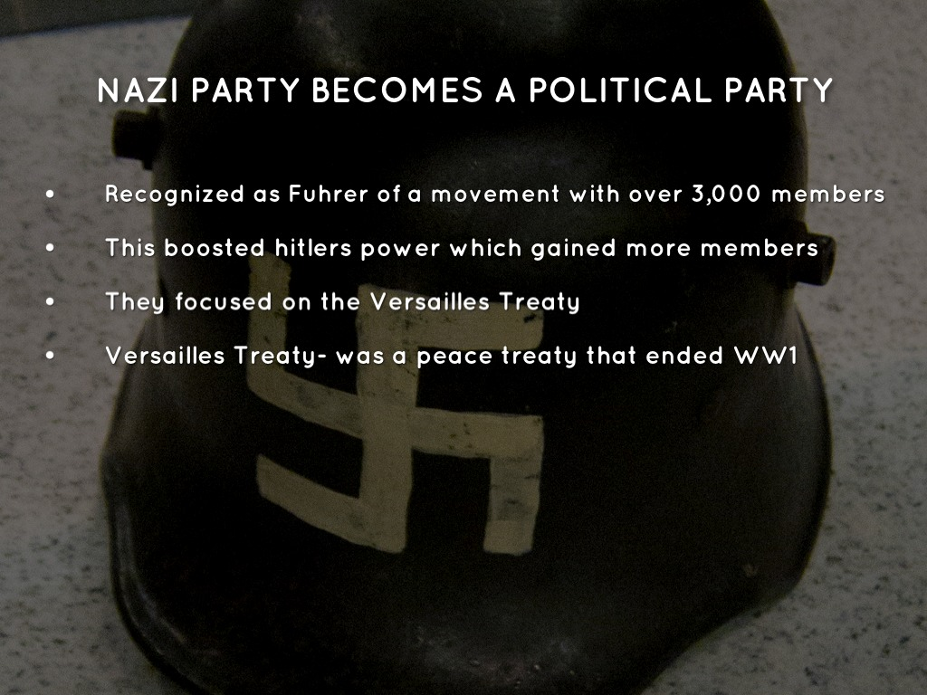 how the nazi party become the Open document below is an essay on how the nazi party became to be from anti essays, your source for research papers, essays, and term paper examples.