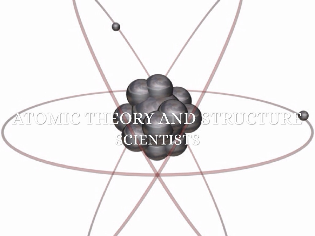 atomic theory and structure  the scientists that
