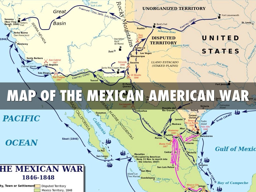 Atlas Map US Territorial Expansion  Of The Expansion Of - Outline map of usa and mexico
