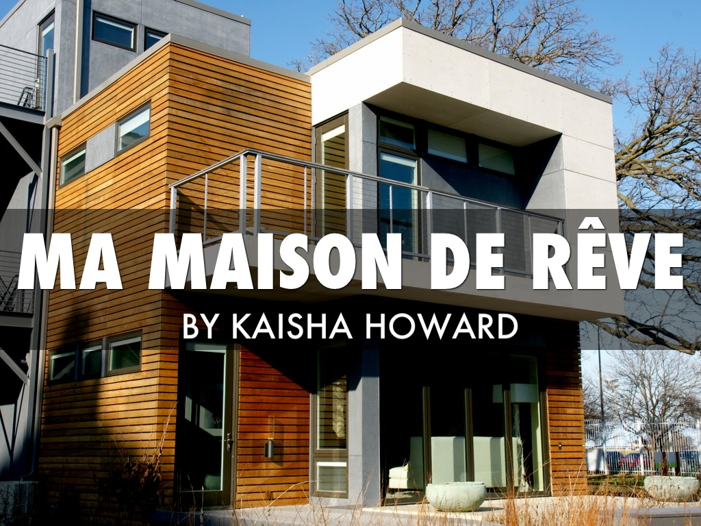 ma maison de r 234 ve project by kaisha howard
