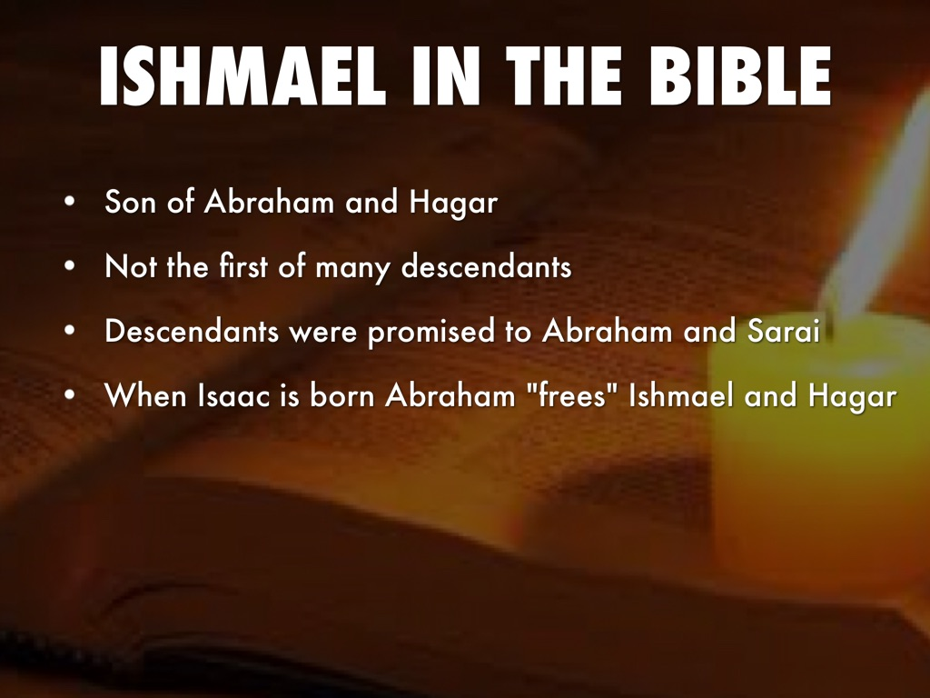 an analysis of the biblical dispute of ishmael and isaac