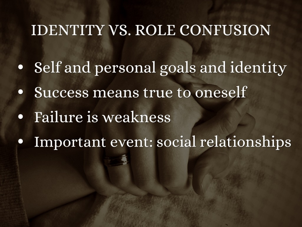 overcoming identity confusion in adulthood essay Adulthood is considered by erikson to be a _____ stage than the previous stage of identity cohesion versus role confusion.