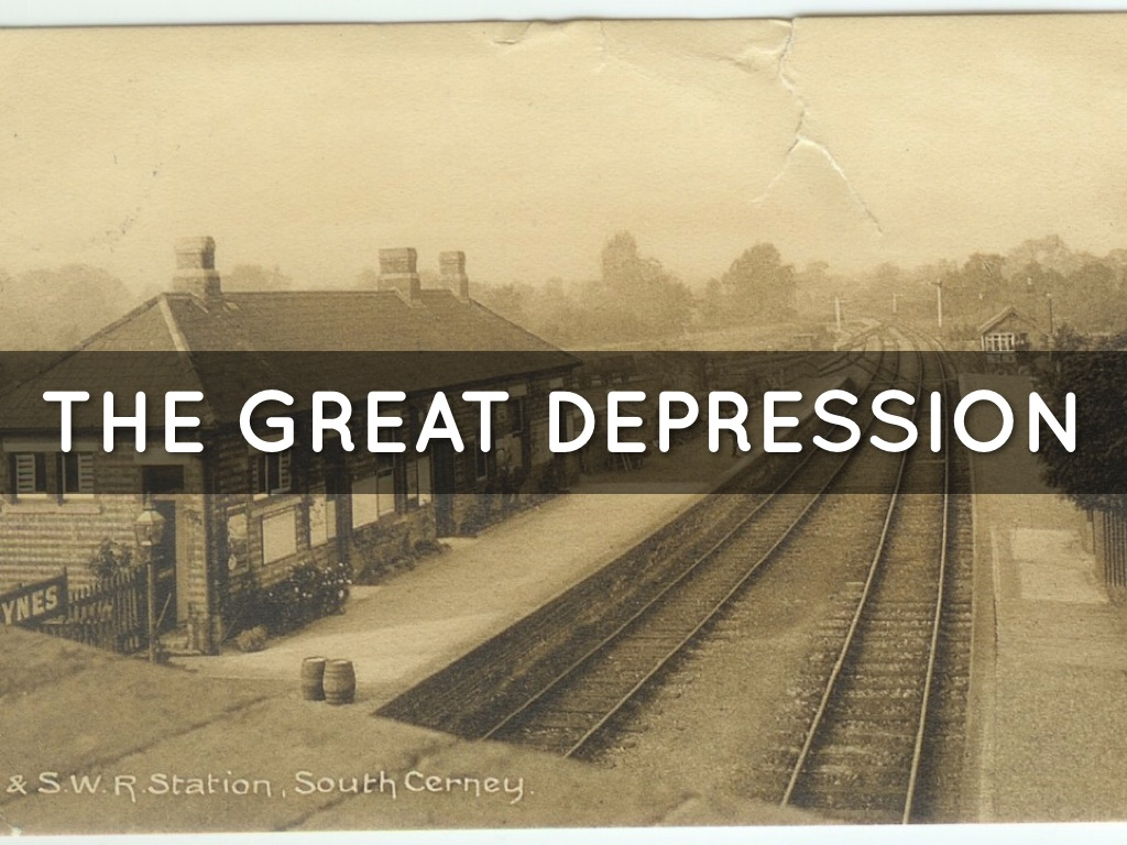 The Great Depression And World War 2 And Present