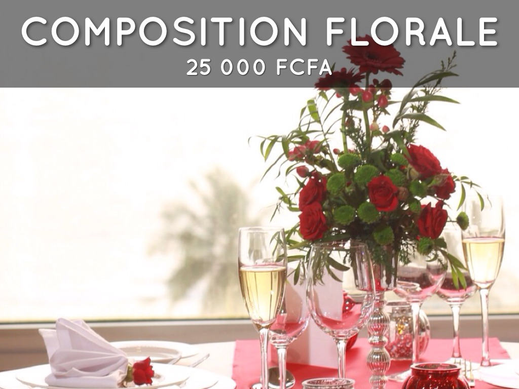 Sublime gabon st valentin 2014 by soumaya emane for Comcomposition florale saint valentin