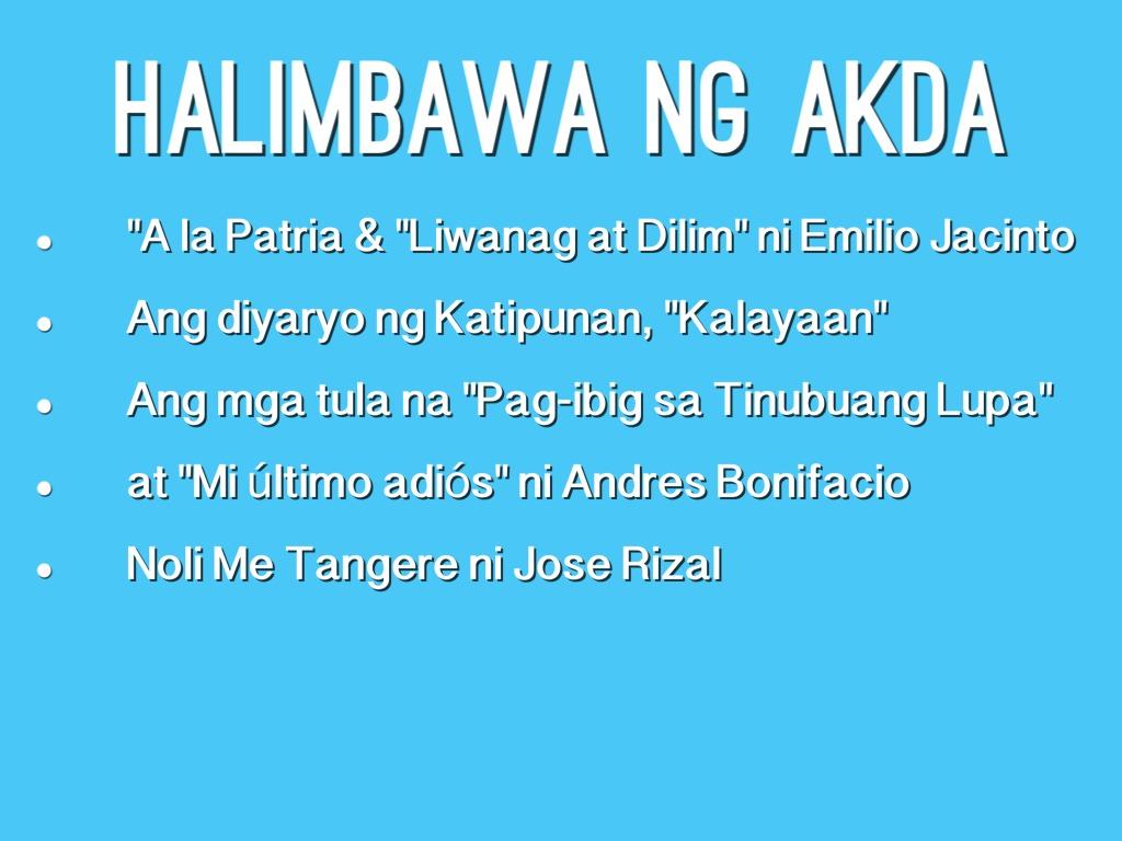 tagalog ng thesis statement