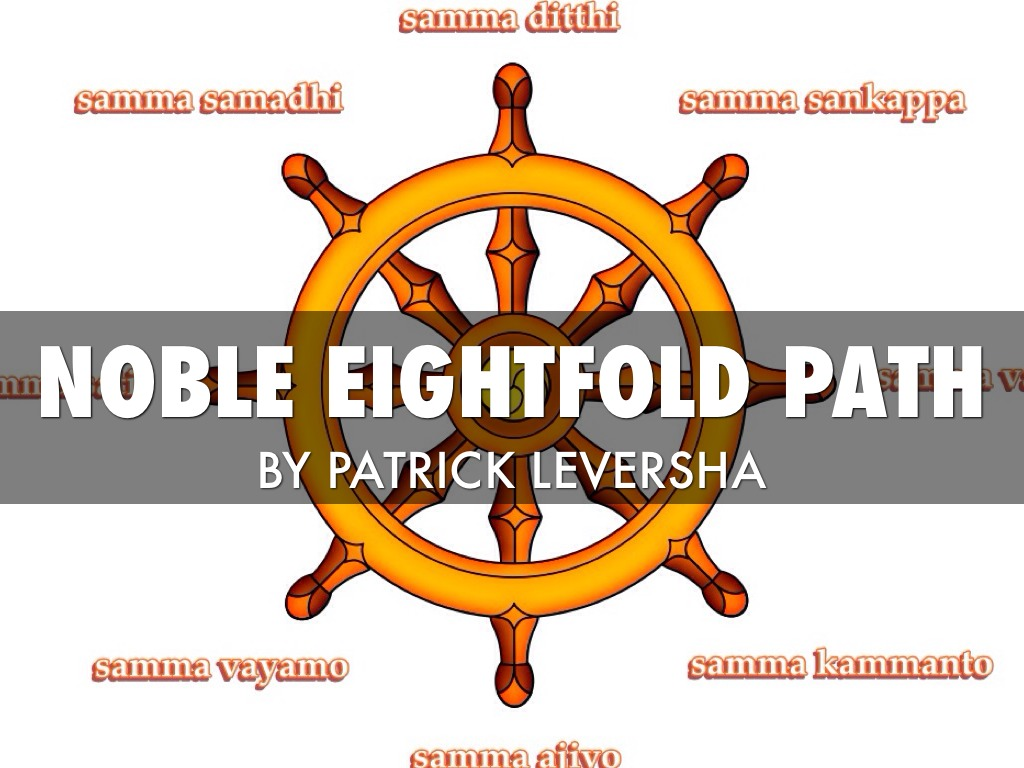 Noble Eightfold Path by Patrick L