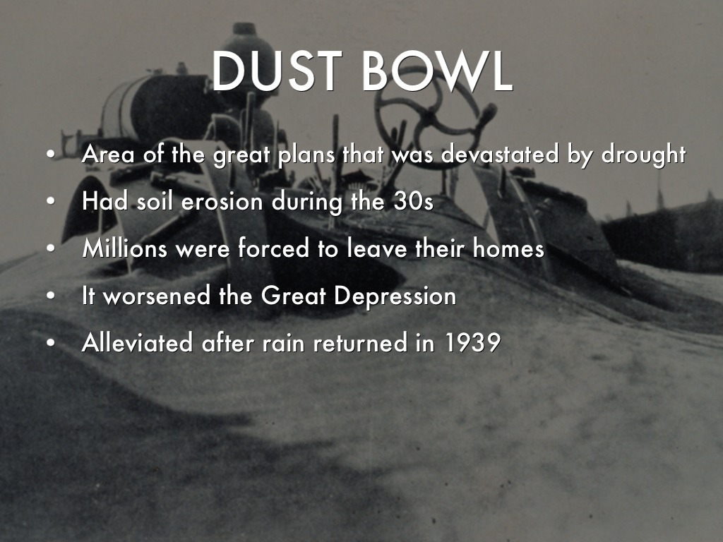 dust bowl and health issues Dust bowl facts the 'dust bowl' or while hundreds of individuals succumbed to health issues like dust pneumonia and malnutrition in course of time.