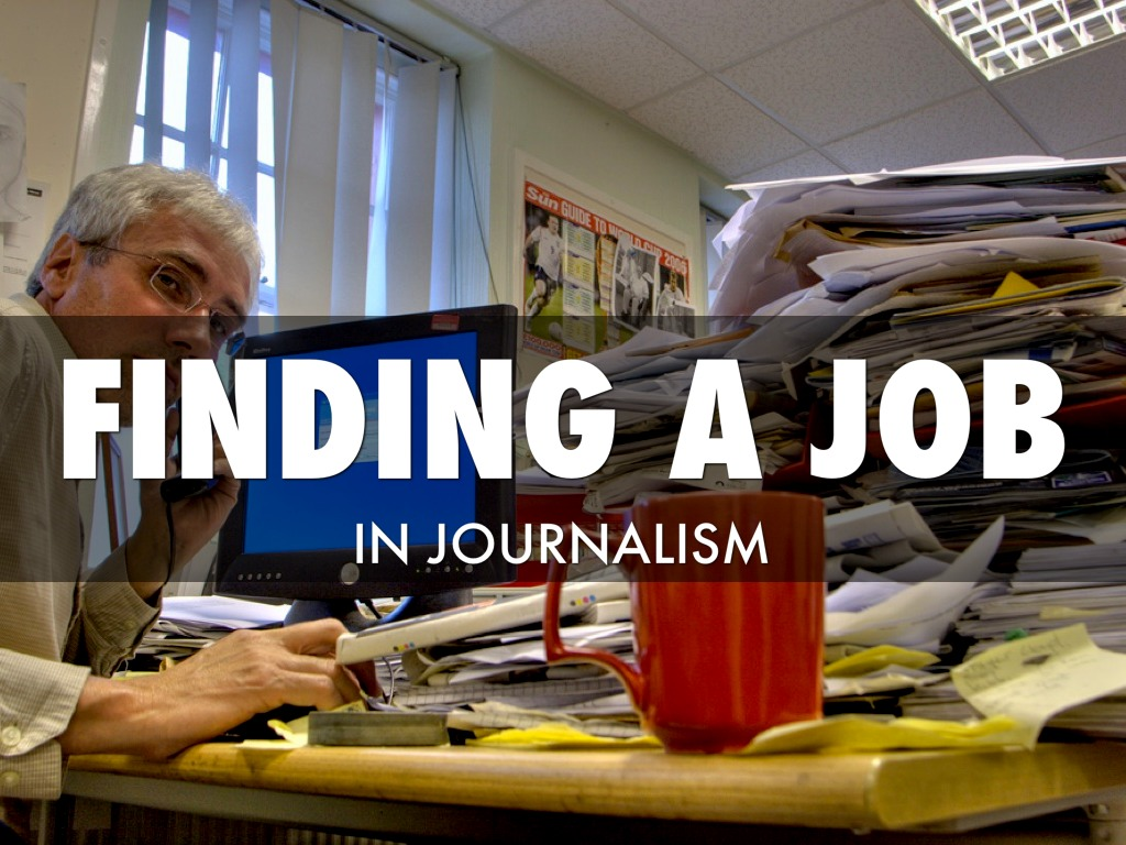 Finding Journalism Jobs