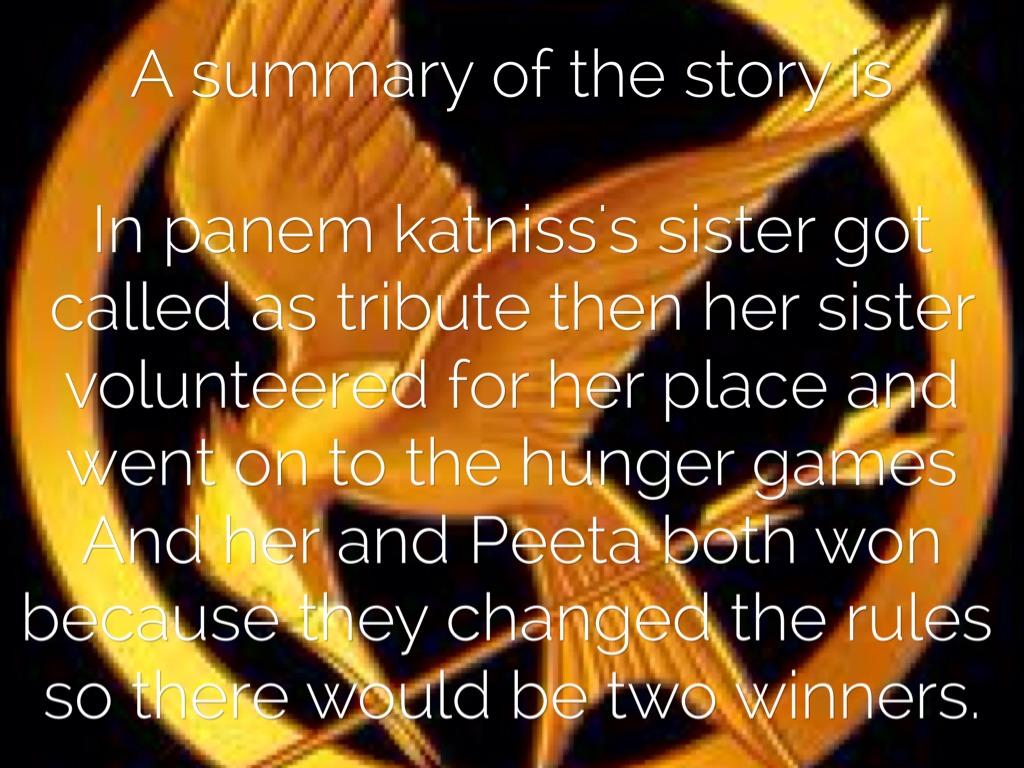 resume The Hunger Games Resume the hunger games resume ideas learn mockingjay part 2 summary what do you really think of katniss
