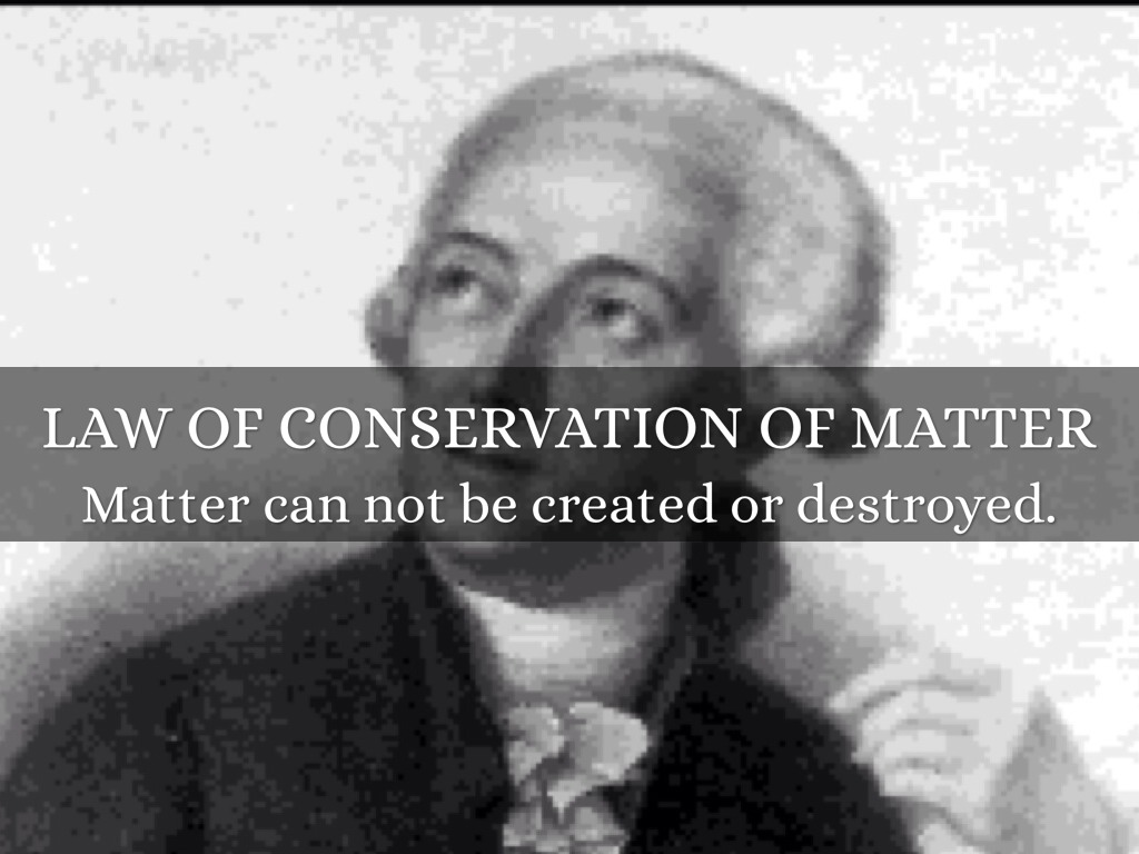 Law Of Conservation Of Matter by Bryan Hockenberry