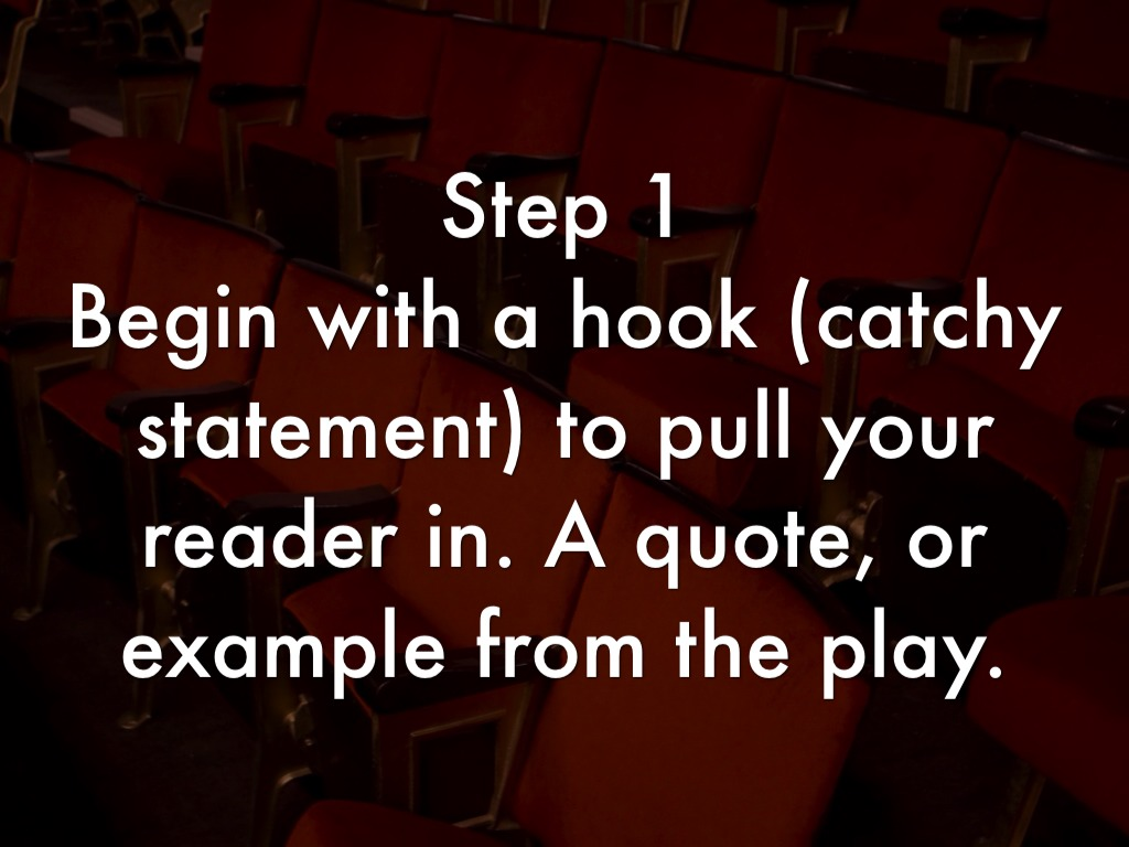 How To Write A Theatre Review by Heather Palmer