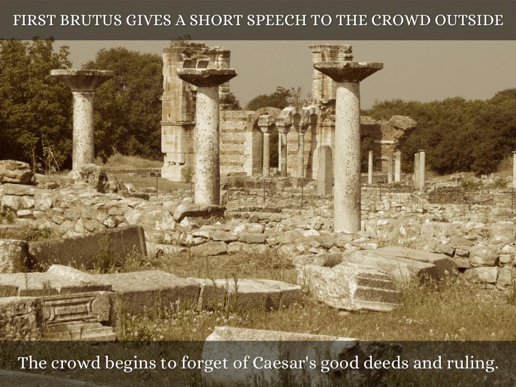 brutus antony speech essay