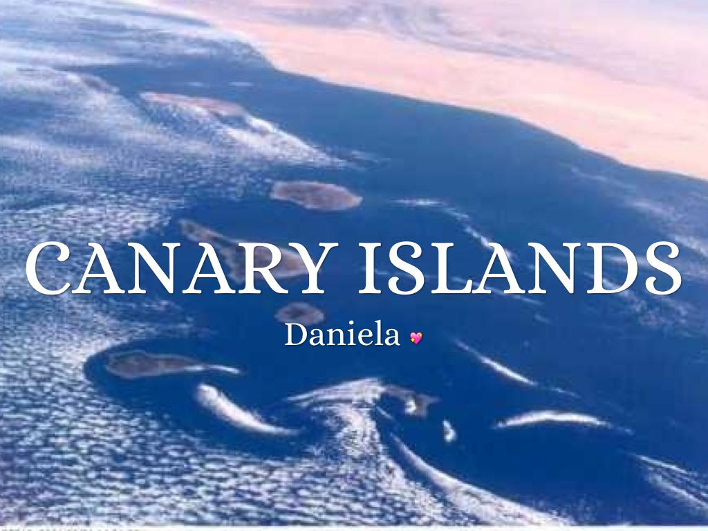 the canary islands presentation Dreaming of vacations in a top destination where you can forget about your problems, relax and enjoy life to the fullest the sunlit tenerife, one of.