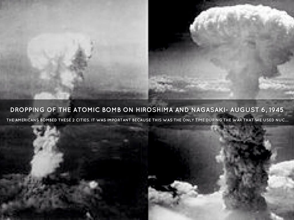 the debate about whether the use of the atomic bomb in japan was necessary Dropping the atomic bomb on japan currently, the united what caused the united states to build the bomb and why was it that it was deemed necessary.