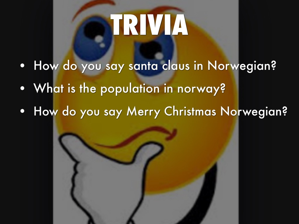 facts about norway - How Do You Say Merry Christmas In Norwegian