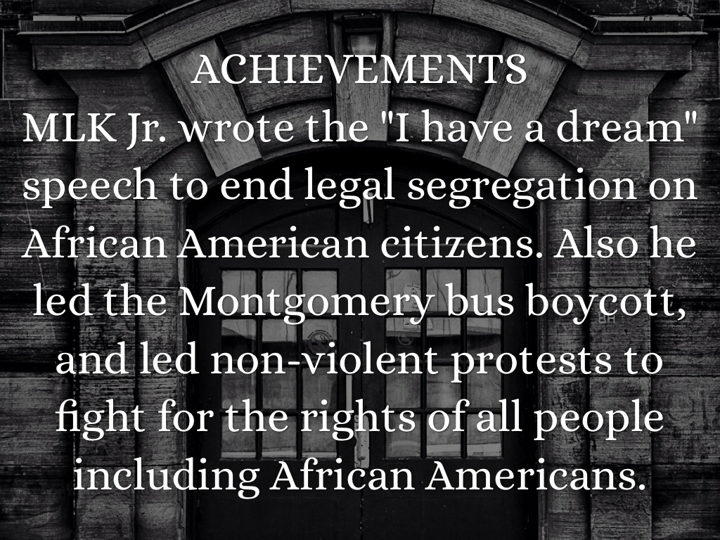 mlk speech purpose Dr martin luther king, jr delivered his famous i have a dream speech on august 28,1963 at the lincoln memorial he discussed racial inequality, eliminating racism and his desire for everyone to coexist peacefully dr king opens his speech by discussing the.
