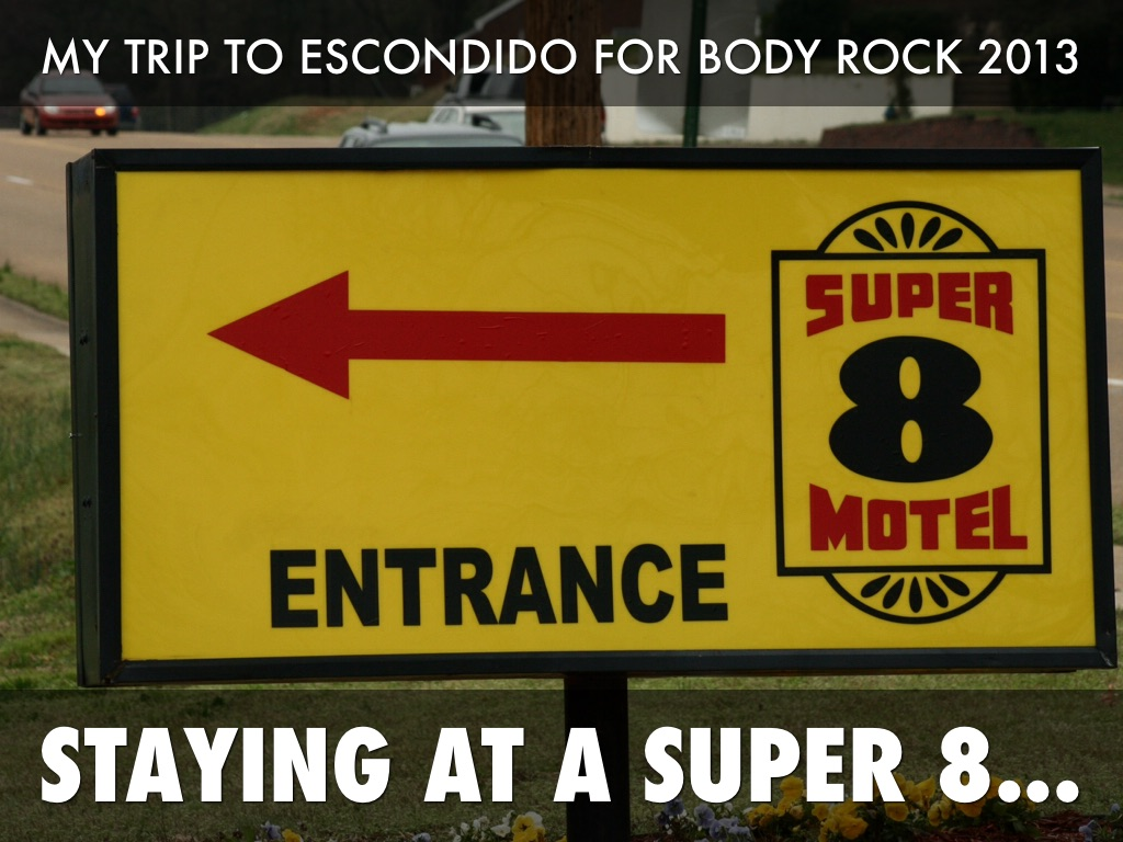 Super 8 Motel, Escondido