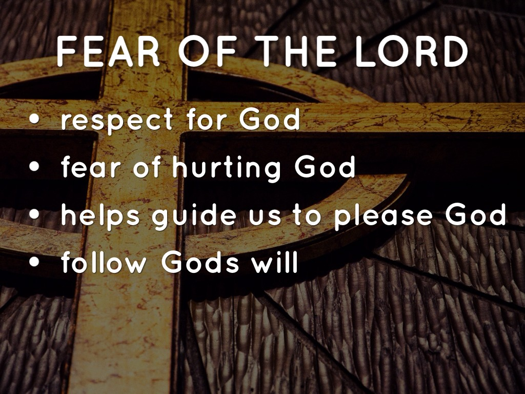 how to grow in the fear of the lord