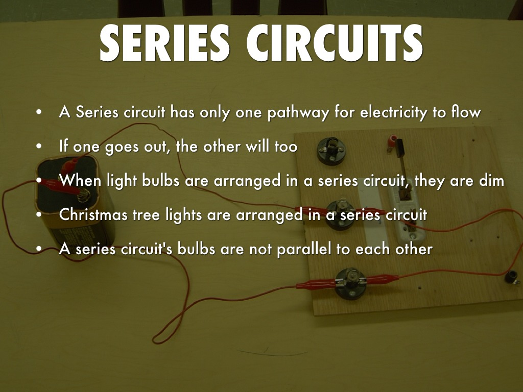 Electricity And Magnetism By Sanjana Checker Parallel Circuit Bulbs Are In 7
